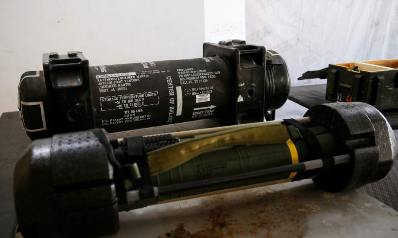 US Finalizes Sale of 150 Anti-Tank Missiles to Ukraine