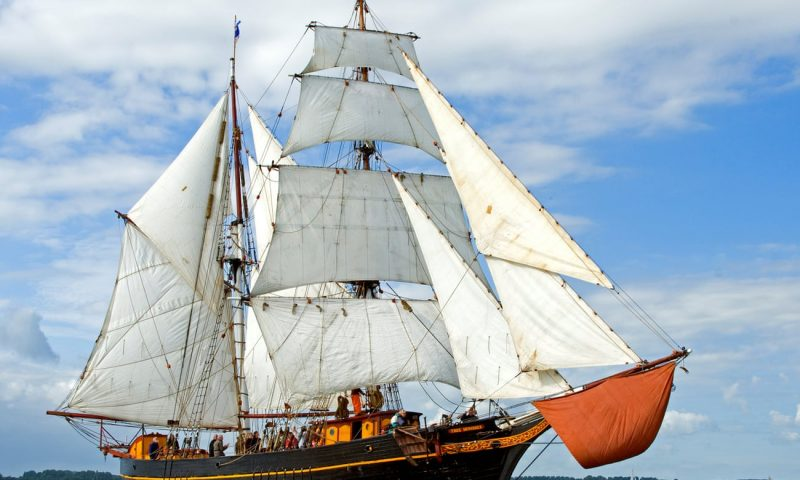 Winds of change: the sailing ships cleaning up sea transport