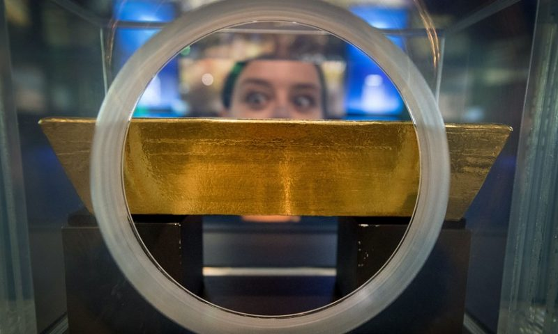 Gold prices post lowest finish month to date
