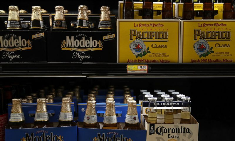 Corona beer parent stock slides 5% as cannabis investment weighs on earnings