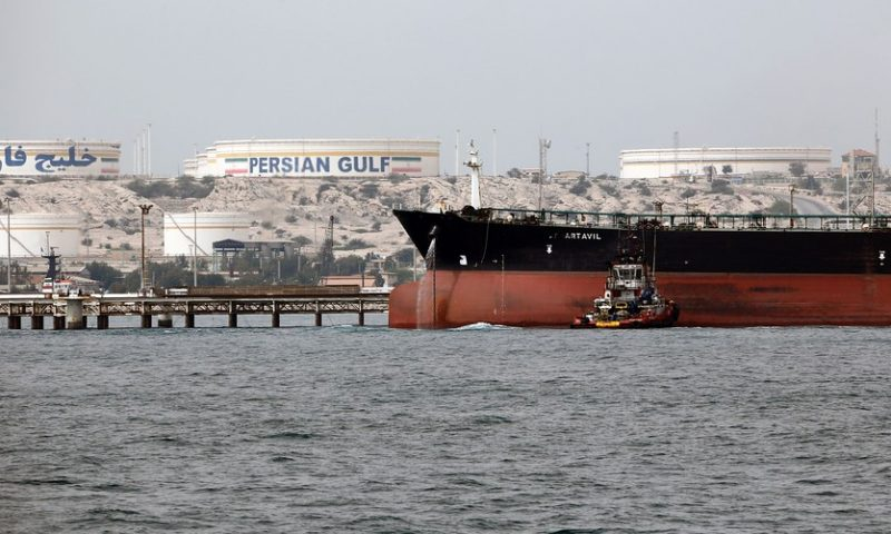 Oil prices jump 1.6% after reports of Iranian tanker blast