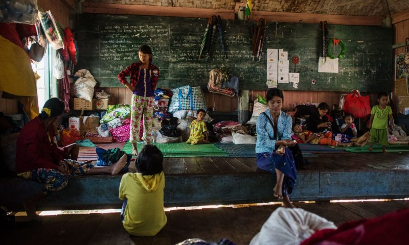In Myanmar's North, Hopes to Return Home