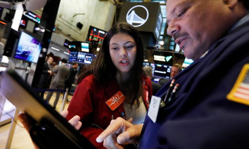 Technology Companies Lead Modest Slide for US Stock Indexes