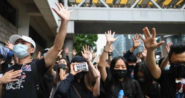 Google pulls Hong Kong protestor game from store