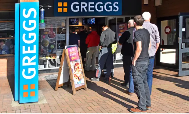 Greggs to stockpile bacon and tuna to avert Brexit shortages