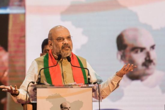 Amit Shah vows to eject illegal migrants from West Bengal