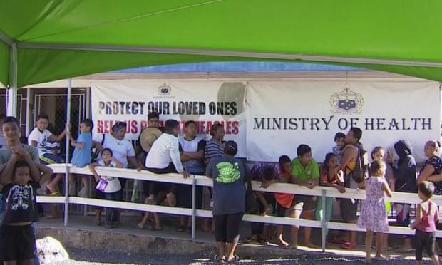 Samoa measles epidemic kills 20