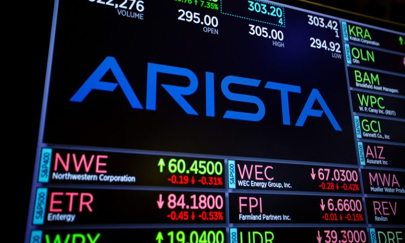 Arista Networks' stock suffers record plunge after 'sudden and severe' drop in cloud demand