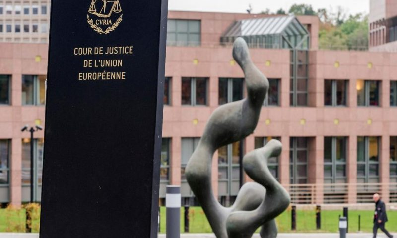 Court Says EU States Must Label Israeli Settlement Products