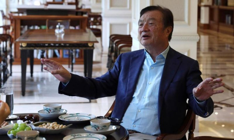 Huawei Founder Says US Woes Not Hardest Crisis