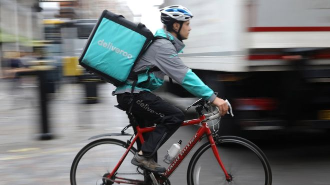 Amazon probed over plan to buy Deliveroo stake