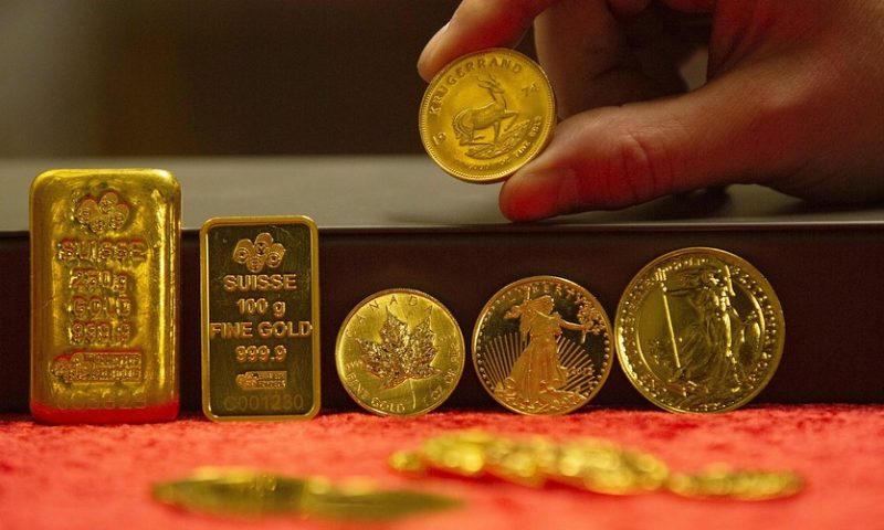 Gold prices recoup some of their recent losses ahead of U.S. jobs data