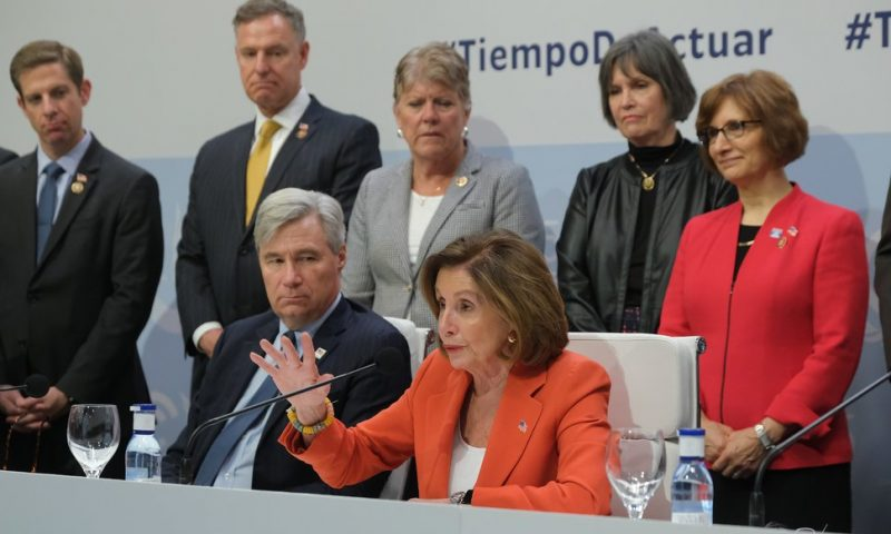 Pelosi, Democrats Assure U.N. Climate Meeting that U.S. 'Is Still In'