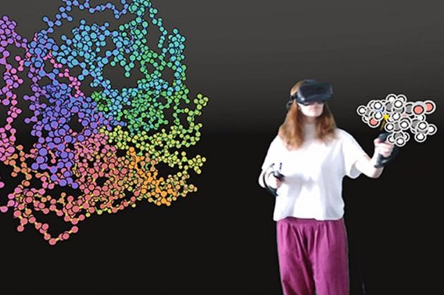 Bristol Researchers To Design New Drugs Using Virtual Reality