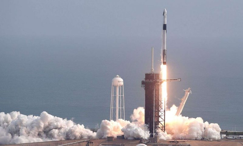 SpaceX reveals timeline for first manned flight to International Space Station