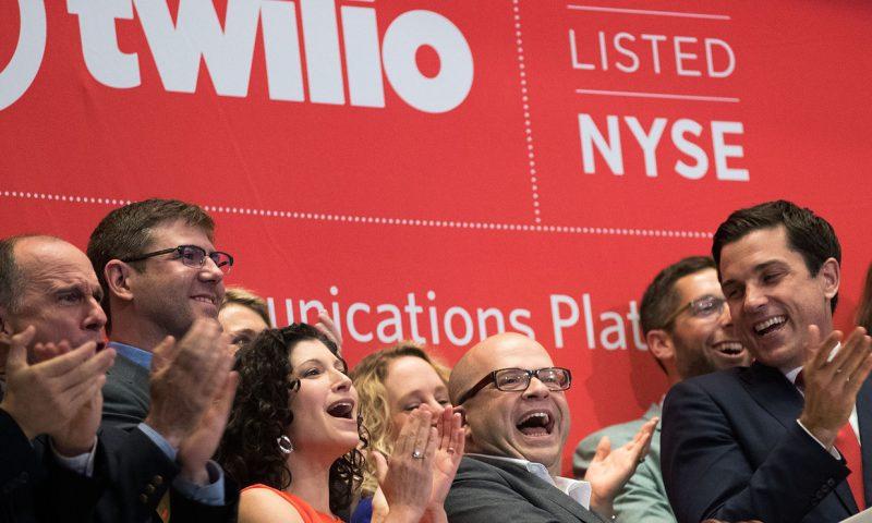 Twilio shares soar 25% on big jump in revenue