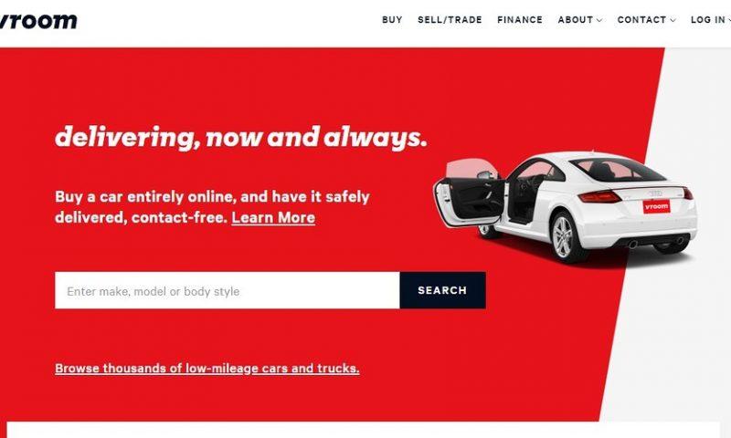 Online used-car seller Vroom seeks June IPO in confidential filing