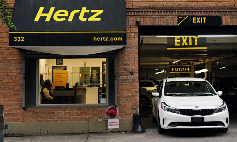 Hertz's stock doubles to erase all post-bankrupty losses