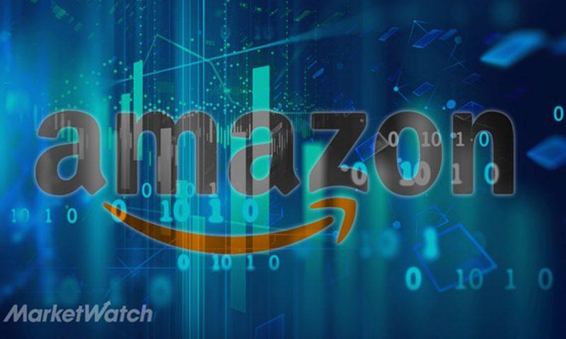 Amazon.com Inc. stock falls Monday, underperforms market