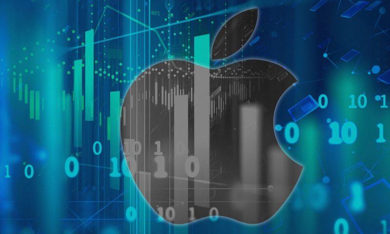 Apple Inc. stock rises Monday, outperforms market
