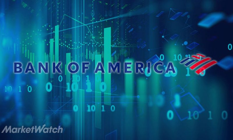 Bank of America Corp. stock rises Monday, outperforms market