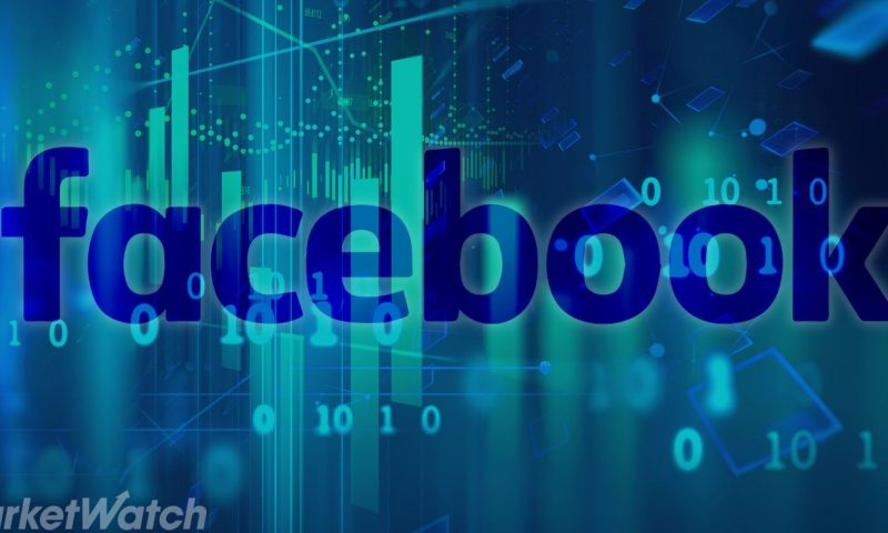 Facebook Inc. Cl A stock outperforms competitors on strong trading day