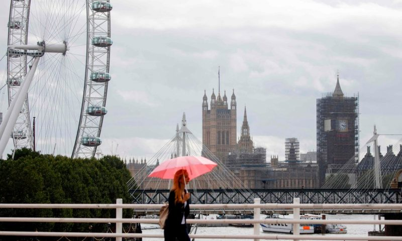 London in rare bout of euphoria before coming Brexit-induced decline