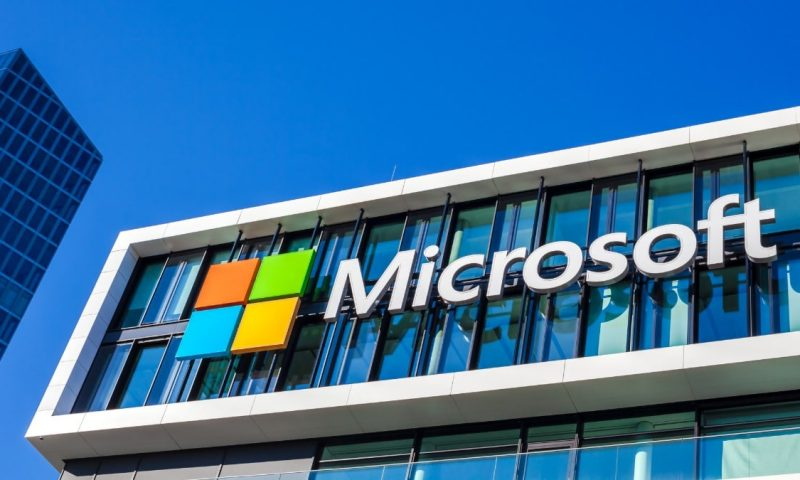 Microsoft Corp. stock outperforms competitors on strong trading day