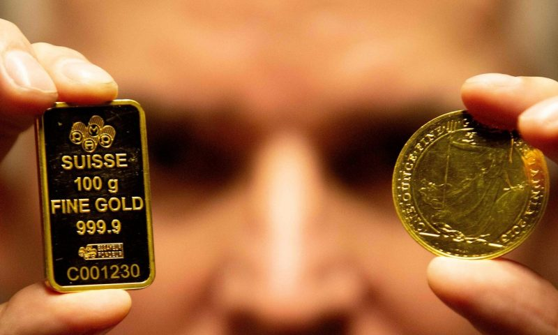 Gold scores partial rebound a day after bond yield rise pressured prices