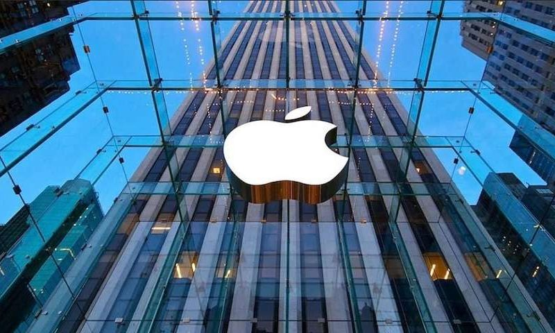 Microsoft, Apple Inc. share losses lead the way, but Dow flat