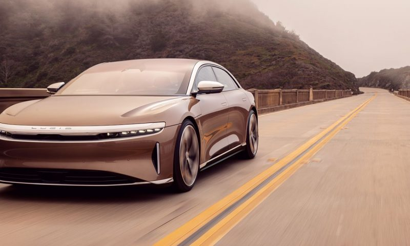 Lucid Motors finally confirms SPAC deal, and the stock is plunging