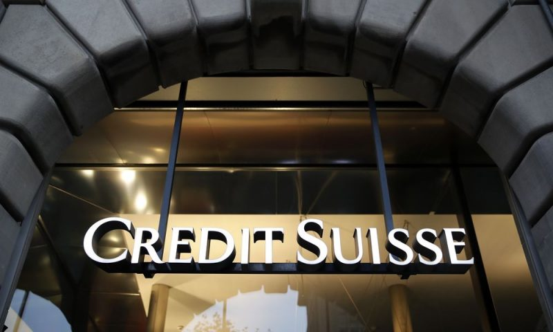 Credit Suisse sees hefty loss from U.S. hedge fund