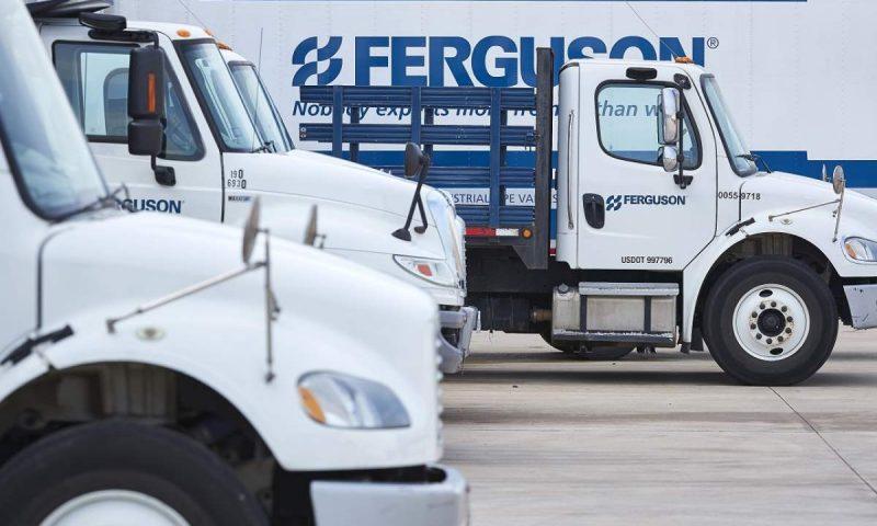 Ferguson to start trading on NYSE