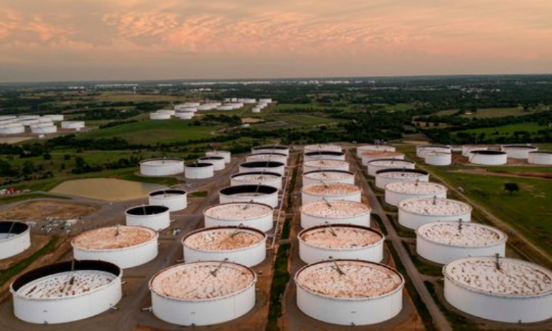 Oil trims gains after fall in inventories, attention turns to OPEC+