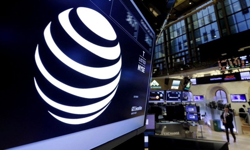 AT&T Inc. stock rises Monday, still underperforms market