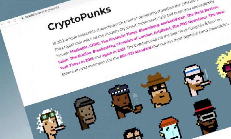 'CryptoPunk' NFT sells for $11.8 million at Sotheby's