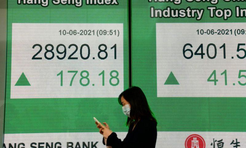 Asian shares climb ahead of U.S. inflation data