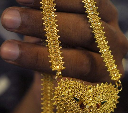 Gold prices finish higher after sharpest weekly skid in over a year