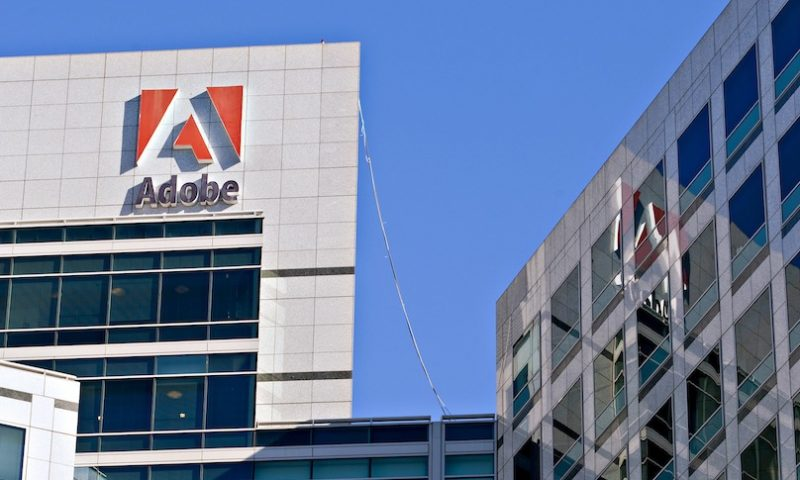 Adobe Inc. stock rises Tuesday, outperforms market