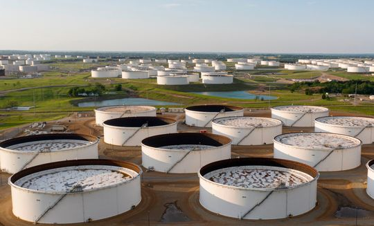 Oil prices settle at 2-week high as U.S. crude supplies fall and gasoline demand stays strong