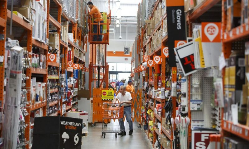 Home Depot Inc. stock outperforms market on strong trading day