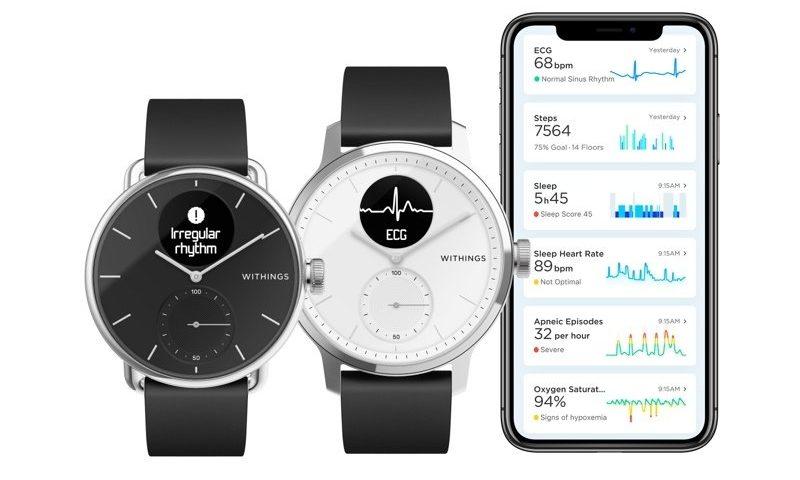 Withings goes head-to-head with Apple, nabbing FDA OK for smartwatch to detect afib, sleep apnea