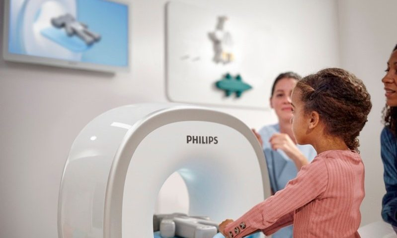 Philips makes the scanner a playground to ease children through a scary MRI